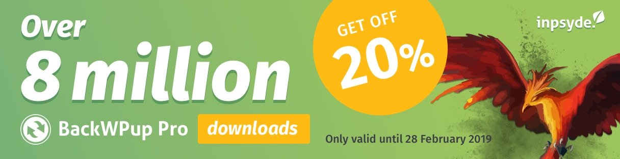 BackWPup 8 million downloads